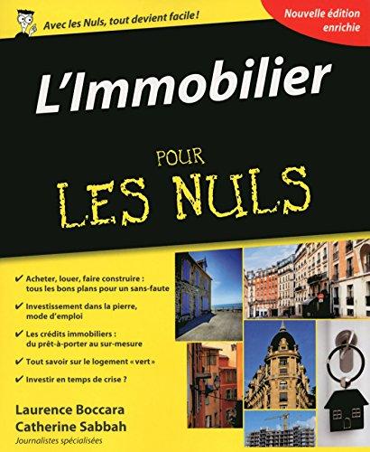 L'Immobilier Pour les Nuls, 4ème édition par Catherine SABBAH