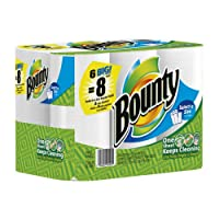 Bounty Big Roll, Select-A-Size, White, 6-Count (Pack of 4)