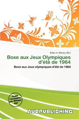 Boxe Aux Jeux Olympiques D' T de 1964