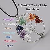 7 Chakra Pendant 7 Chakra Tree Pendant Seven Chakra Pendant For Reiki And Healing