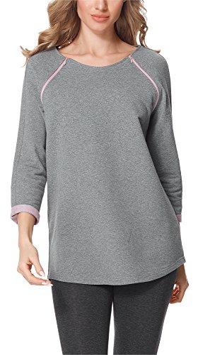 Bellivalini Premamá Blusa Camiseta Lactancia Maternidad