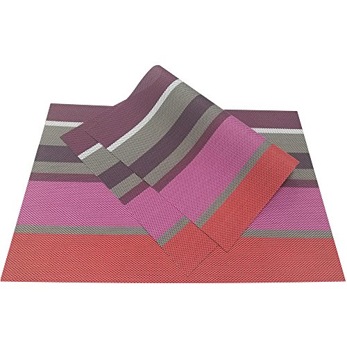 PVC tessuto Tovagliette, zupro (TM) stile europeo PVC Adiabatic Tovaglietta