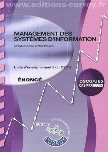 Management des systèmes d'information UE 5 du...
