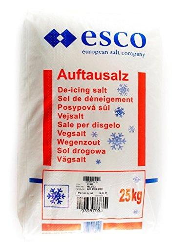 ESCO Auftausalz Streusalz 25 Kg Sack