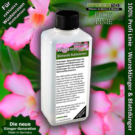 Adenium feed (la rosa del deserto)–fertilizzante liquido hightech npk, radice, suolo, concime fogliare–professional per piante
