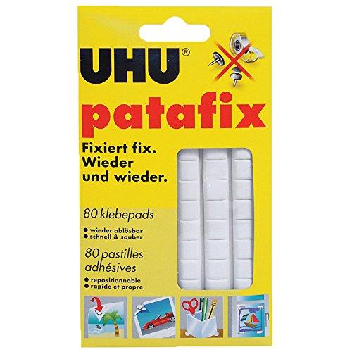 uhu-patafix-pastilles-adhesives-repositionnables-decollables-blanc-lot-de-80-pastilles