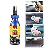 Detergente per Auto Senza Lavaggio E Cera - Rendi Il Tuo Veicolo Nuovo di Zecca - Autolavaggio E Spray per Lucidatura di qualità Premium