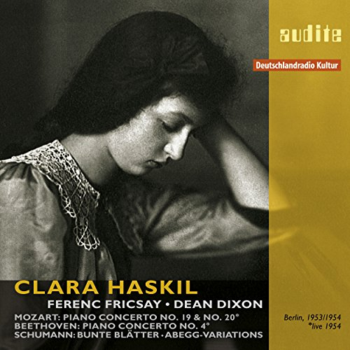 Clara Haskil Plays Mozart, Beethoven and Schumann (The complete RIAS recordings, Berlin 1953 & 1954)