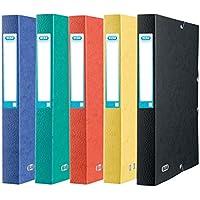 Elba Eurofolio 100200422 – personalizable Caja de archivo laminado tarjeta con lomo de 40 mm,