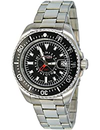 Nautec No Limit Herren-Armbanduhr XL Deep Sea Analog Quarz Edelstahl DS QZ-GMT/STSTBKBK