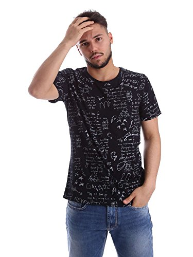 Gaudi 71FU64068 T-shirt Man Black