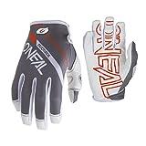 O'Neal Mayhem Rizer MTB Fahrrad Handschuhe DH Downhill All Mountain Bike Freeride MX Cross, 0385, Farbe Grau, Größe XL