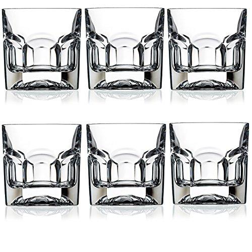 RCR® Hogar y mesa de cristal Provenza vasos de Whisky de vasos para a