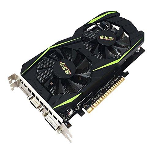 Delicacydex Grafikkarte für NVIDIA für GeForce GTX960 4 GB DDR5 128 Bit PCI-Express Grafikkarte Desktop-Computer mit HDMI VGA DVI-Ports
