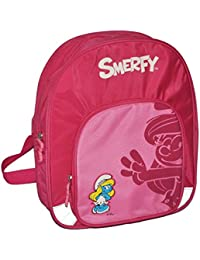 Unbekannt großer Rucksack die Schlümpfe / Schlumpfine Kinder - mit 2 Fächern Kinderrucksack groß Kind Schlumpf... - preisvergleich