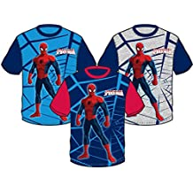 CAMISETA SPIDERMAN TALLA 2-4-6-8