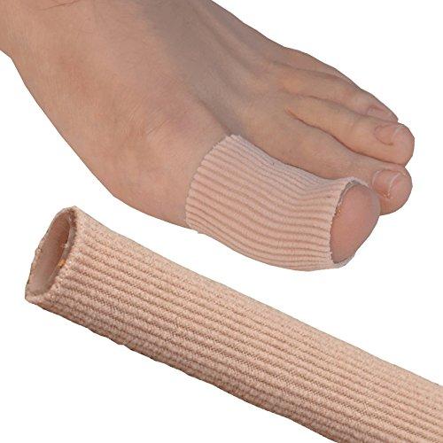 GEL Schlauch Zehen/Finger Bandage - Lindert Schmerz von Blasen, Hühneraugen, Hornhaut oder anderen Beschwerden, die wunde Finger und Zehen verursachen. -