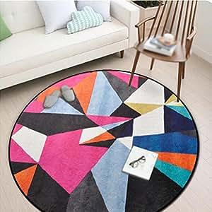 bloc de couleurs en forme de porte g om trique entr e chambre tapis de porte tapis. Black Bedroom Furniture Sets. Home Design Ideas