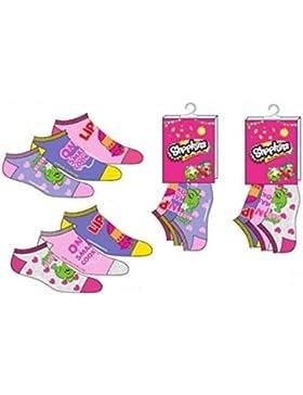 shopkins - Calectines cortos - para niña multicolor multicolor