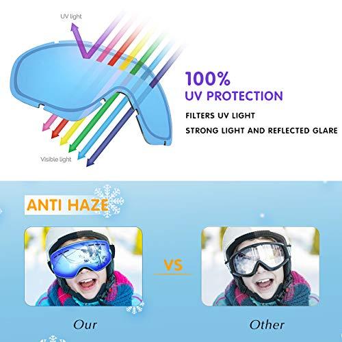 Zoom IMG-2 tuonroad occhiali da sci bambino