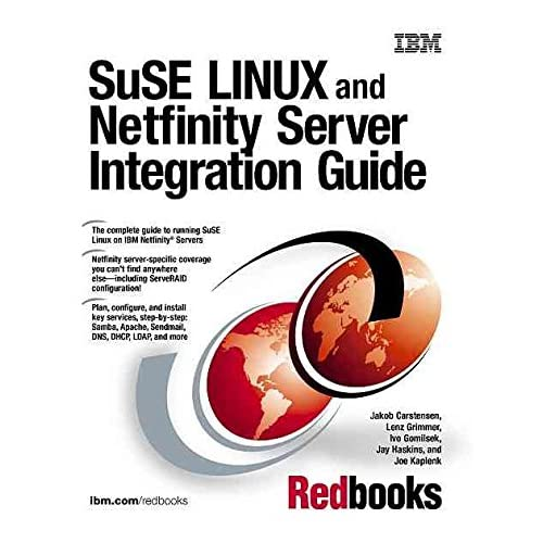 [(SuSE Linux and Netfinity Server Integration Guide)] [By (author) Jakob Carstensen ] published on (May, 2000)