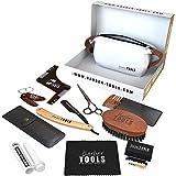 ✮ BARBER TOOLS ✮ Kit/Set/Cofanetto per la cura e manutenzione della barba e radersi