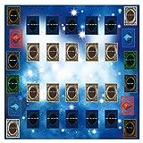 TianranRT Gummi Spielen Matte 60x60cm Galaxy Style Wettbewerb Pad Playmat Für Yu-gi-oh Karte