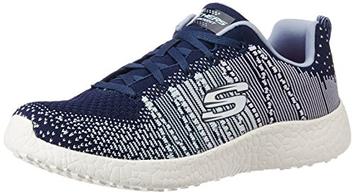 SkechersBurst Ellipse - Scarpe Sportive Outdoor Donna Navy blue