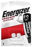 Batterie Energizer LR44/A76 Alkaline Button, confezione da 2