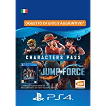 JUMP FORCE - Characters Pass | Codice download per PS4 - Account italiano