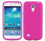 Luxburg In-Colour Design custodia cover per Samsung Galaxy S4 Mini GT-I9195, colore rosa, in silicone TPU