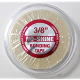 Walker Tape No Shine 3/8' x 6 Yards Tape WITH CASE INCLUDED - Walker Bonding Clear Double Sided