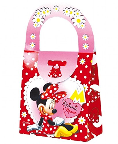X 20 Minnie Mouse pour enfants Transport Nourriture fête d'anniversaire Sac repas Box ~