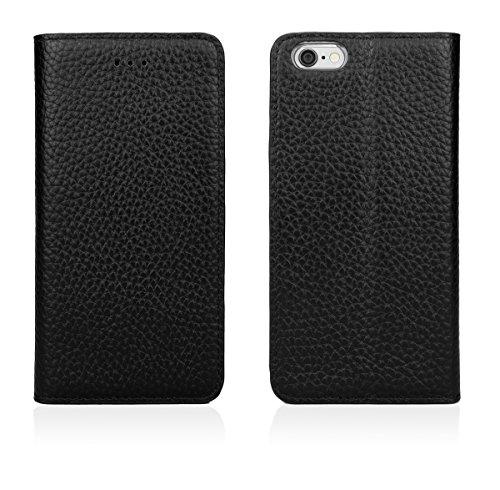 CASEual LEWALIP7-ITAL-BRO Italian Leder Wallet Schutzhülle für Apple iPhone 7 braun Classic Black
