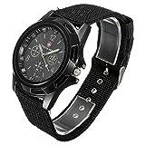 YEROS Army Black - Reloj