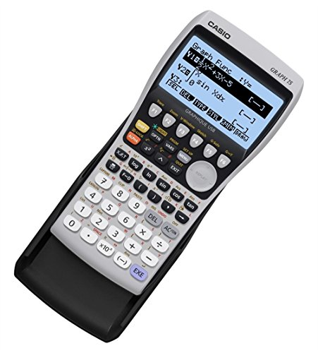 Casio Graph 75+E Calculatrice Graphique 8 lignes 21 caractères avec mode examen