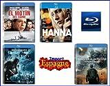 Lot Blu-Ray Import Espagne (VF Incluse) - Inclus: Ouragan sur le Caine (El Motín del...