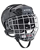 CCM Fitlite 40 Helm Combo Senior, Größe:S;Farbe:weiss