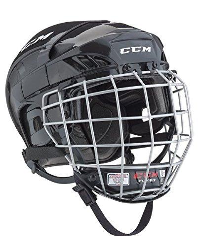 CCM Fitlite 40 Helm Combo Senior, Größe:S;Farbe:schwarz (Eishockey-helm-liner)