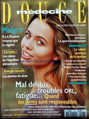 MEDECINE DOUCE [No 28] du 01/09/1994
