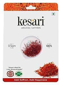 Kesari Pure Saffron - Iso 3632 Tested - 0.5 Gm