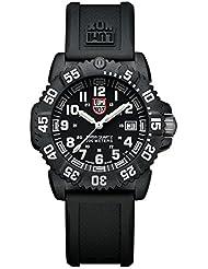 Luminox Colormark Series black - Reloj analógico de mujer de cuarzo con correa negra - sumergible a 200 metros