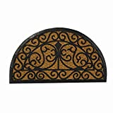 #6: SWHF Coir and Rubber Door Mat: Virgin Rubber and Extremely Durable (Semi Circle)