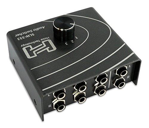 Hosa Technology SLW-333 Audiosignal Selector Switcher - Gunmetal Grau