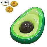 wanxing Avocado Aufblasbare Floatation Kickboards,Riesige Pool Float Sommer Schwimmen Ring Wasser...