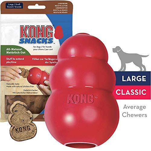 Kong Hundespielzeug aus robustem Naturkautschuk, zum Kauen, Jagen, - Hundespielzeug Zum Apportieren