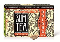 Okuma Nutritional's SlimTea CAPSULES, 100% Pure and Natural, More Powerful Than Green Tea! 1 Month Supply(60 capsules)