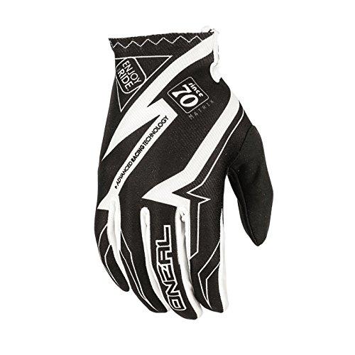 Preisvergleich Produktbild O'Neal Matrix MX Handschuhe RACEWEAR Schwarz Weiß Motocross Enduro Offroad,  0388R-5,  Größe M