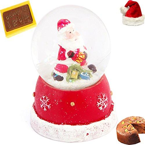 Christmas Gifts – Santa Domb with Christmas Chocolate Bar and Plum Cake