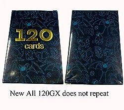 HLFGJE 2020 Version Pokemon-Karte GX magische Elf-Karte 120GX Nicht wiederholt Geschenk: 100-seitige Spielkarte Schutzfolie/Schutzhülle